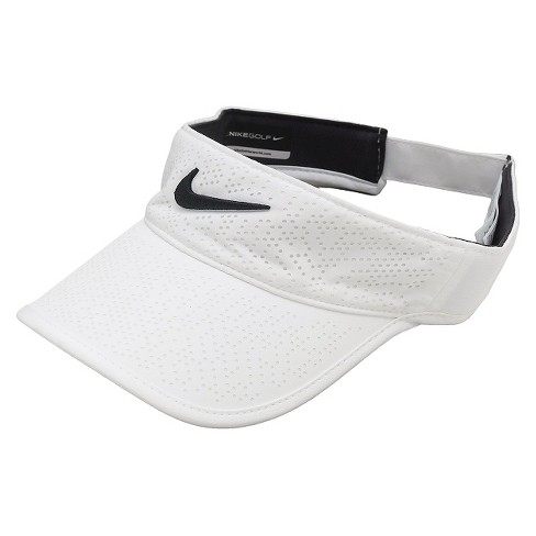 Nike Women s Adjustable Golf Visor - White   Target e5fe422d126