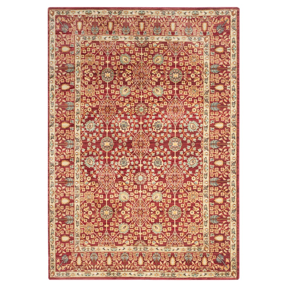 Maddy Area Rug Red Red 4 39 X 6 39 Safavieh