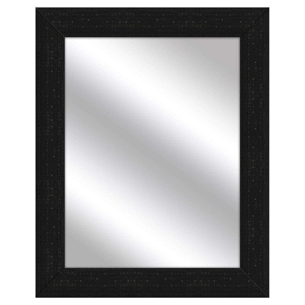 Decorative Wall Mirror Ptm Images Black