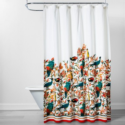 Flora/Bird Shower Curtain - Opalhouse™
