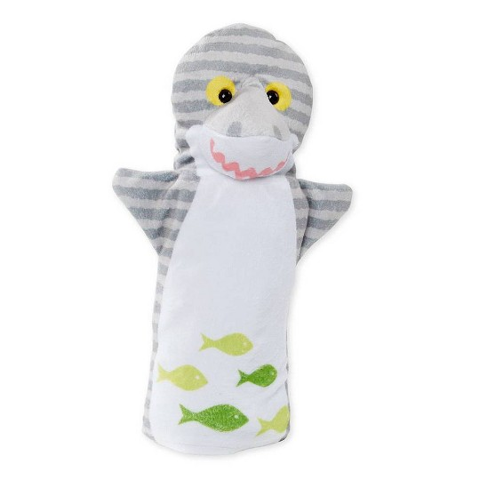 Melissa & Doug Sea Life Friends Hand Puppets image number null