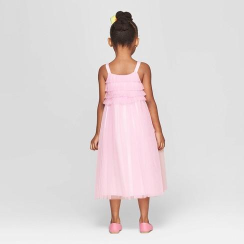 253b20d6cc9e Toddler Girls  Ruffle Maxi Dress - Cat   Jack™ Light Pink   Target