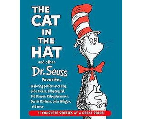 Cat in the Hat and Other Dr. Seuss Favorites (Unabridged) (CD/Spoken Word) - image 1 of 1