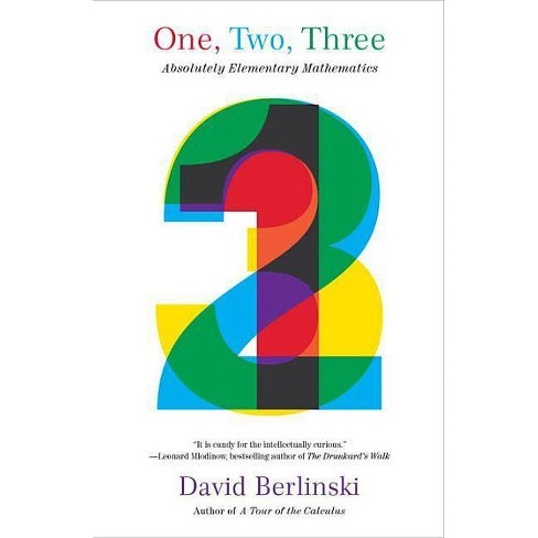 One, Two, Three - by  David Berlinski (Paperback) - image 1 of 1