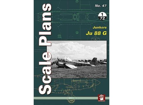 Junkers Ju 88 G -  (Scale Plans) by Maciej Noszczak (Paperback) - image 1 of 1