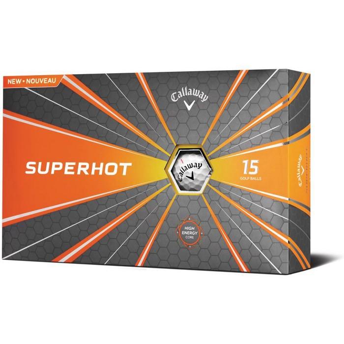 Callaway Superhot Golf Balls White 15-Pack - image 1 of 1