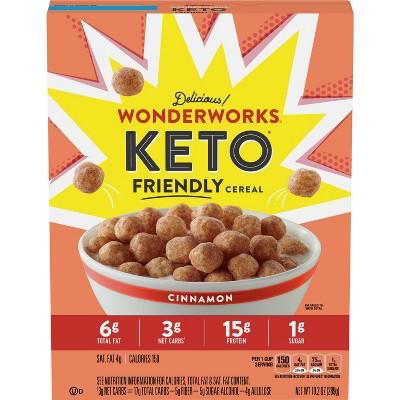 Wonderworks Keto Cinnamon Cereal - 10.2oz - General Mills