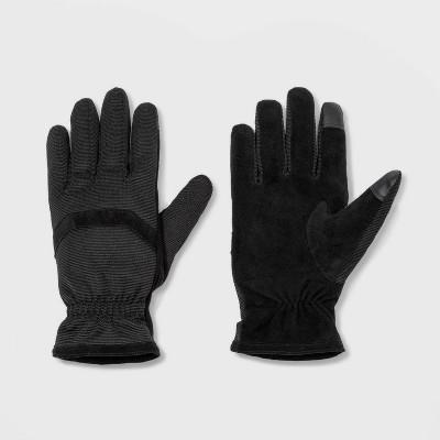 Men's Hybrid Gloves - Goodfellow & Co™ Black