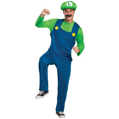 Adult Luigi Classic Halloween Costume