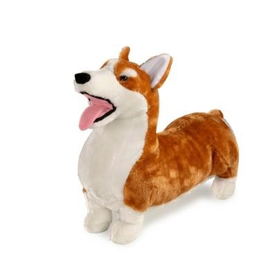 Melissa & Doug Lifelike Stuffed Animal - Corgi Dog