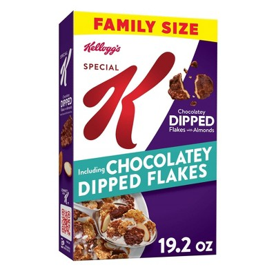Special K Dipped Chocolate Almond Family Size - 19.2oz