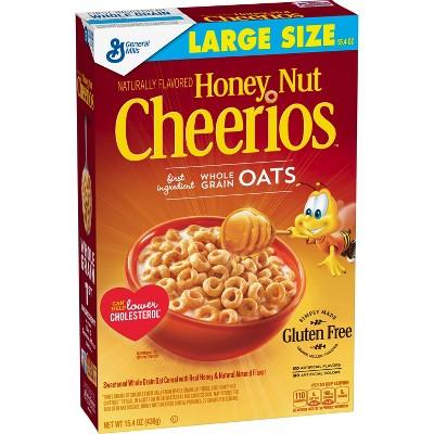 Cheerios Honey Nut Breakfast Cereal - 15.4oz - General Mills
