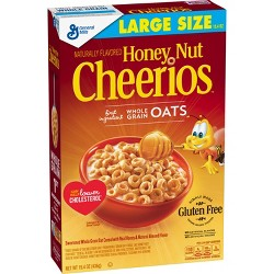 Cheerios Honey Nut Breakfast Cereal - 15.4oz - General Mills