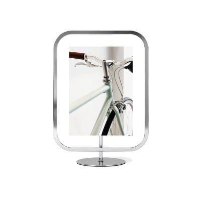 "5"" x 7"" Infinity Sqround Single Photo Display Frame Chrome - Umbra"