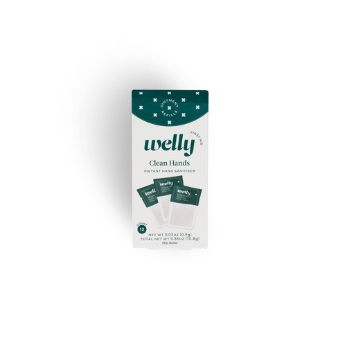 Welly First Aid Hand Sanitizer Replenishment Pack - 12ct - image 1 of 4