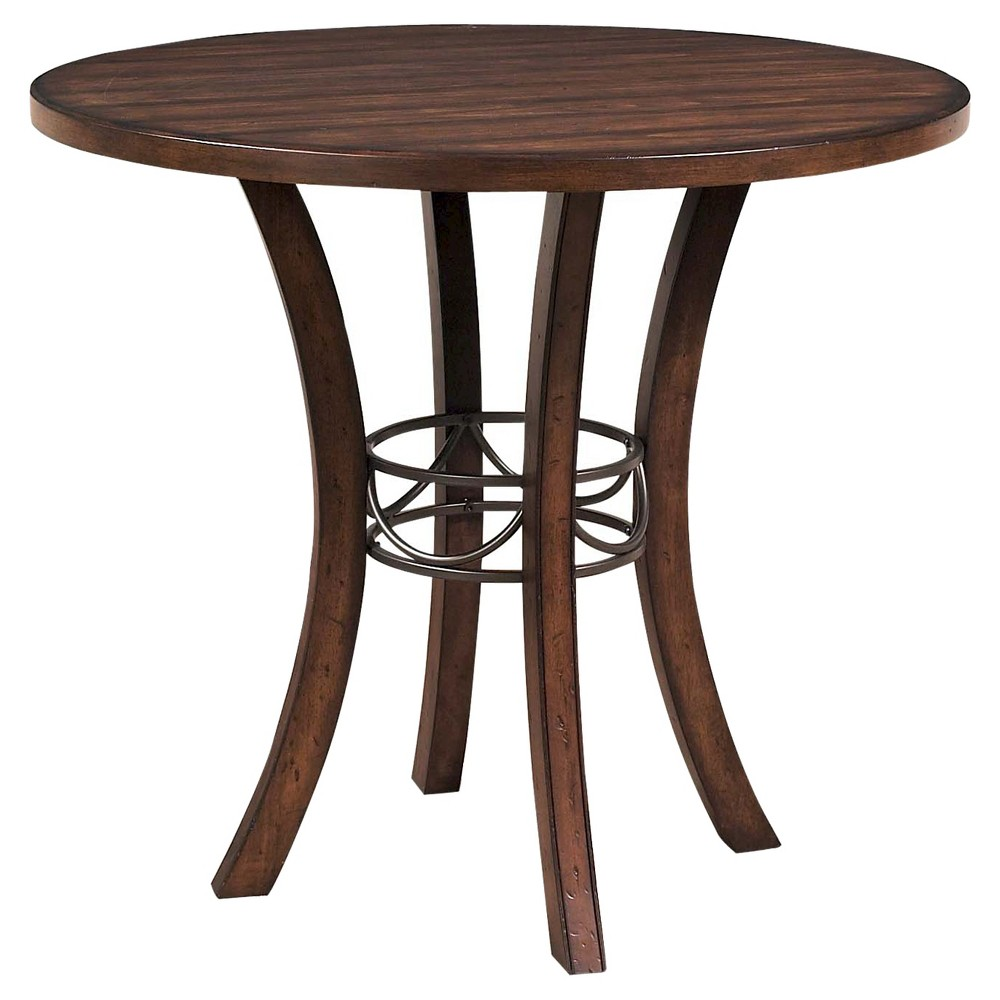 Cameron Counter Height Table Brown - Hillsdale Furniture