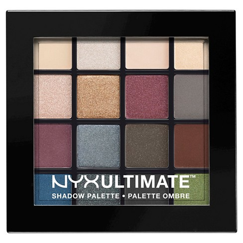 NYX Professional Makeup Ultimate Eyeshadow Palette Smokey & Highlight 0.46oz - image 1 of 2