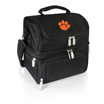 NCAA Clemson Tigers Pranzo Dual Compartment Lunch Bag - Black
