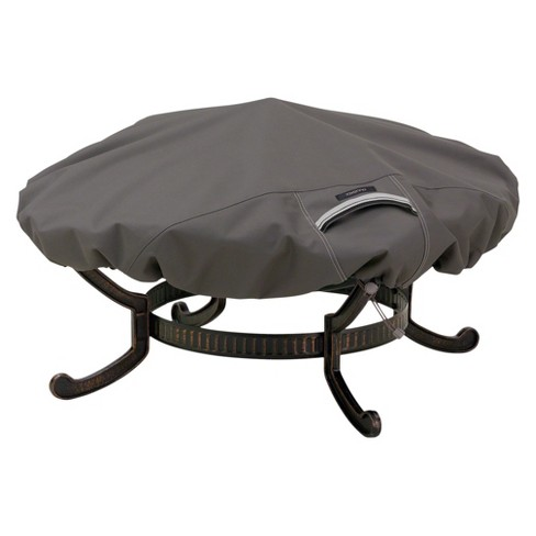 """Ravenna Fire Pit Cover Round 44"""" - Dark Taupe - image 1 of 4"""