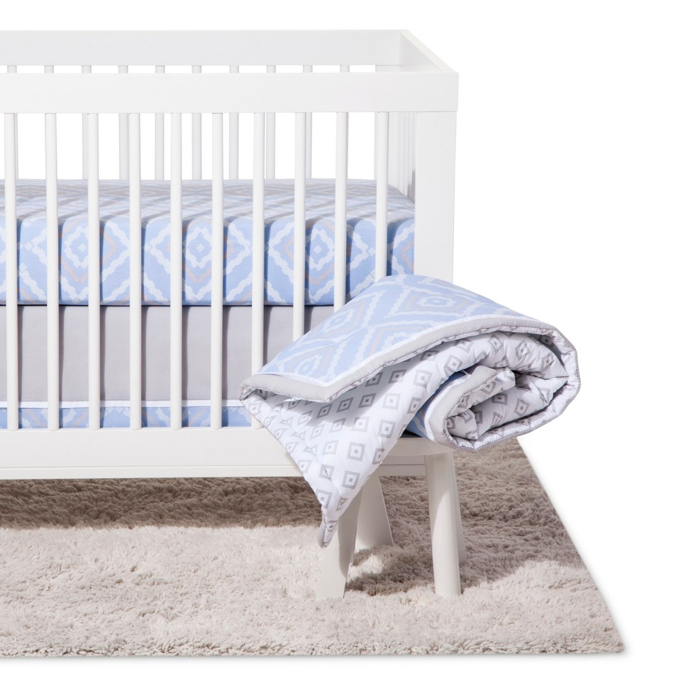 Image of NoJo Crib Bedding Set 8pc - Dreamer - Blue