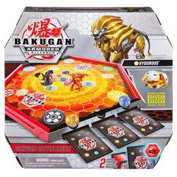 Bakugan Battle Arena Game Board with Exclusive Gold Hydorous Bakugan - Board Colors May Vary