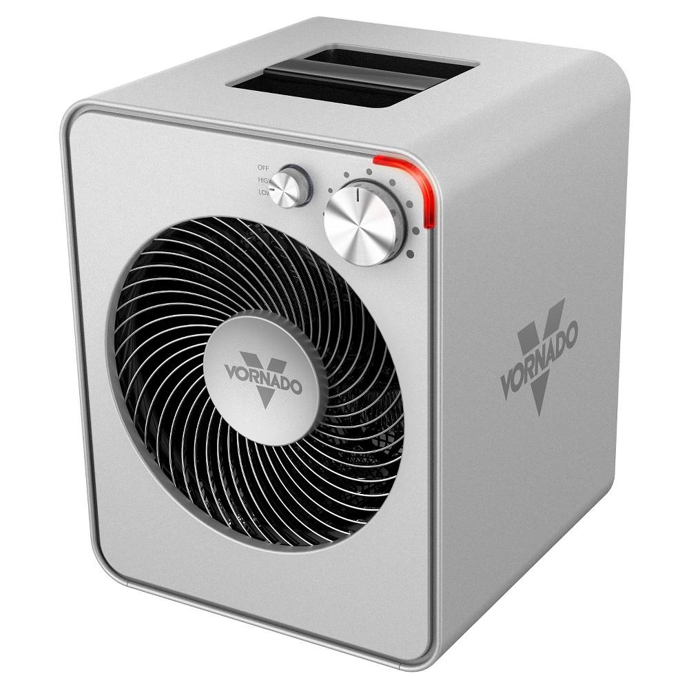 Vornado VMH300 Whole Room Metal Indoor Heater Silver 1500W EH1-0115-26
