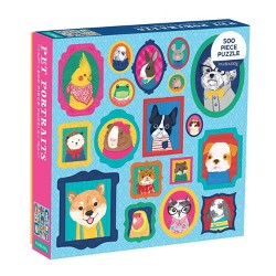 Galison Pet Portraits Family Puzzle - 500pc