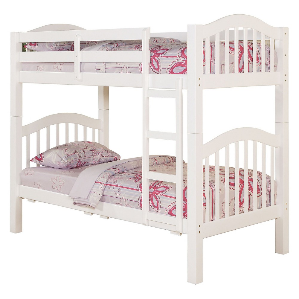 Heartland Kids Bunk Bed - White(Twin/Twin) - Acme