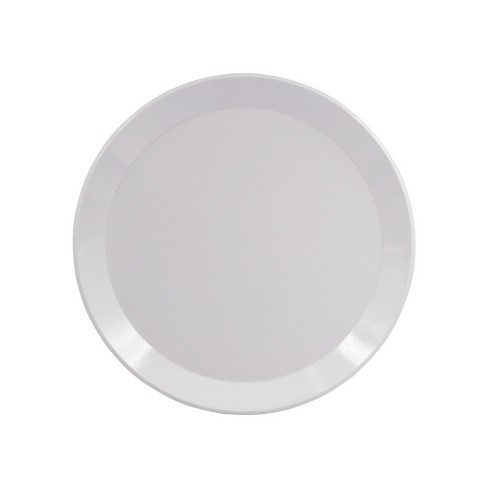 "Melamine Dinner Plate 10.5"" White - Room Essentials™ - image 1 of 1"
