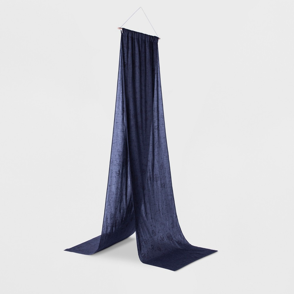 Constellation Glow Bed Tent Black - Pillowfort