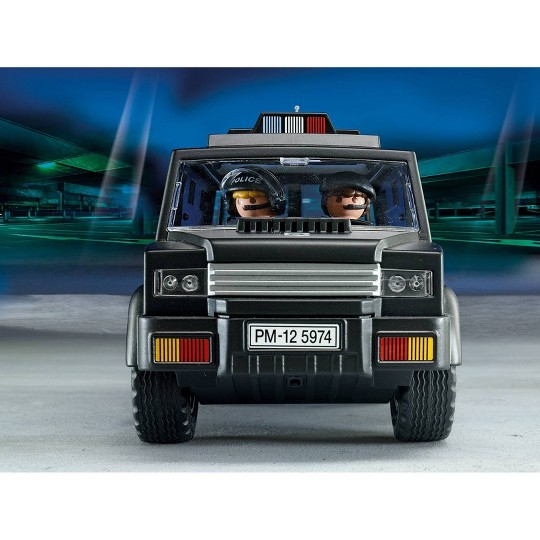 Playmobil Tactical Unit Car image number null