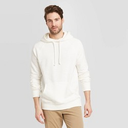 Men's Standard Fit French Terry Hoodie Sweatshirt - Goodfellow & Co™