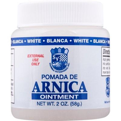 Sanvall Pomada de Arnica Ointment – White - 2oz