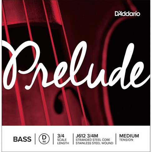 D'Addario Prelude Series Double Bass D String - image 1 of 2