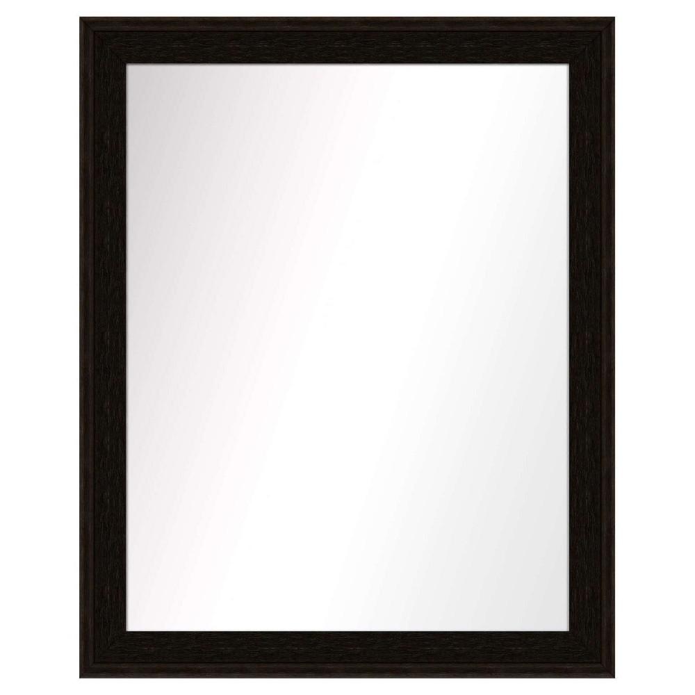Vanity Mirror Ptm Images Espresso Brown