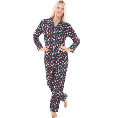 Alexander Del Rossa Women's Warm Flannel Long Pajama Set