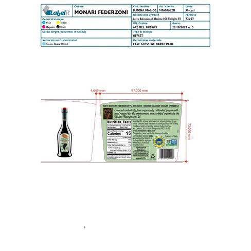 Monari Organic Balsamic Vinegar - 17oz - image 1 of 1