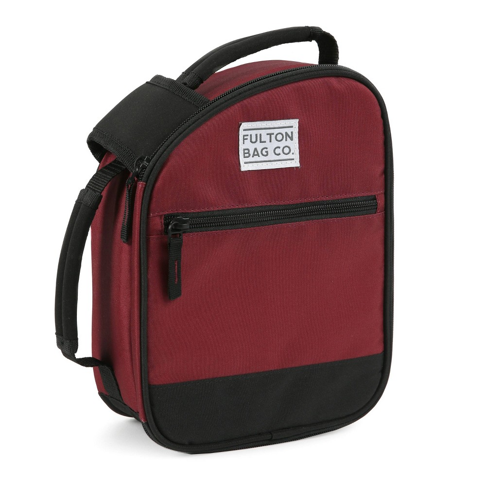 Image of Fulton Bag Co. Lunch Bag - Ruby, Red