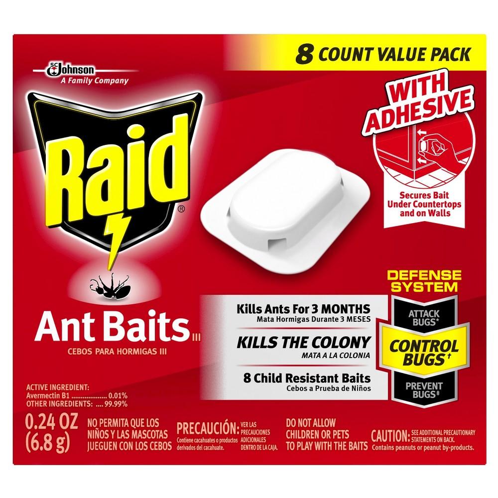 Raid Ant Baits III, 8ct, pesticides