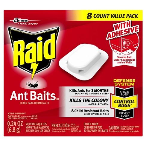 Raid Ant Baits III, 8ct - image 1 of 3