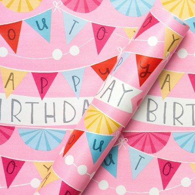 Birthday Banner Wrapping Paper - Spritz™