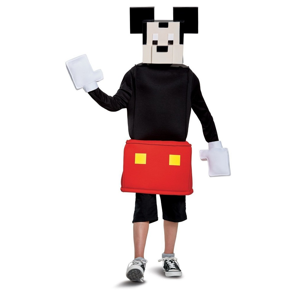 Image of Halloween Kids' Mickey Mouse Crossy Roads Classic Child Costume Small, Men's, MultiColored