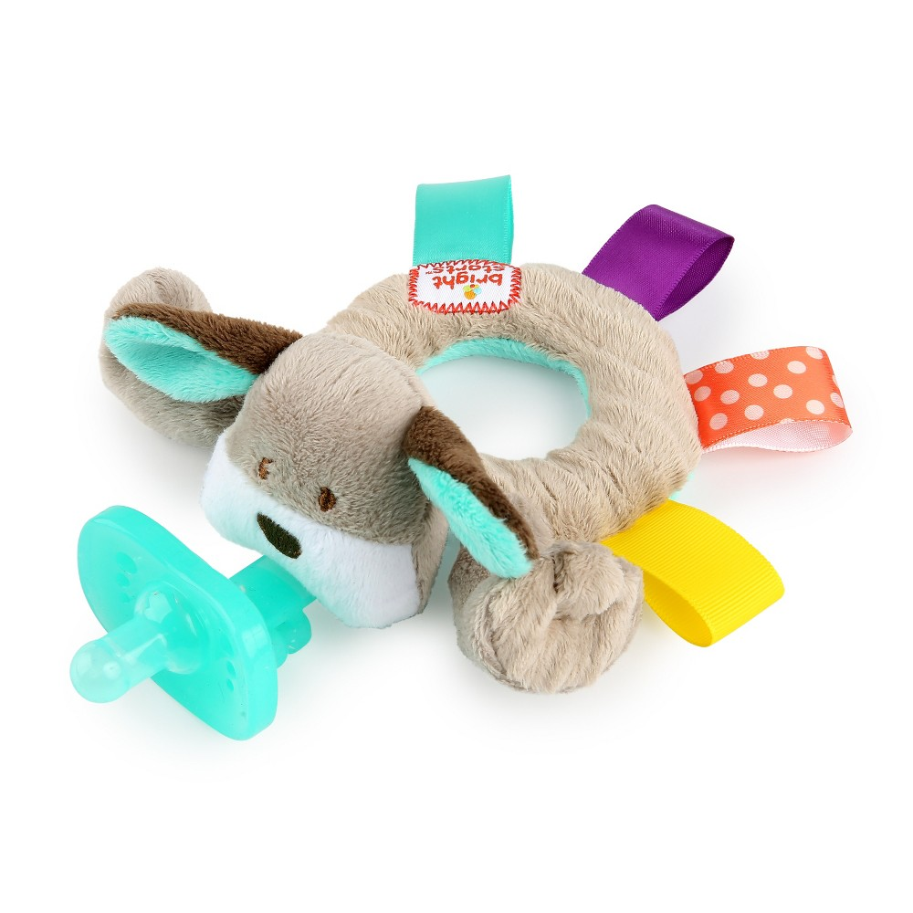 Bright Starts Taggies Cozy Coo Ring Pal - Puppy