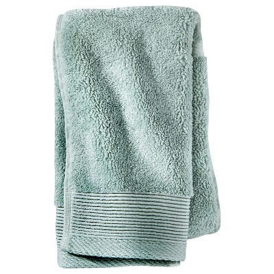 Solid Hand Towel Gray Aqua - Project 62™ + Nate Berkus™