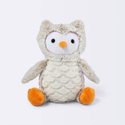 Plush Owl - Cloud Island™ Light Brown