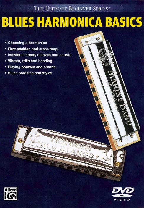 Ubs blues harmonica (DVD) - image 1 of 1