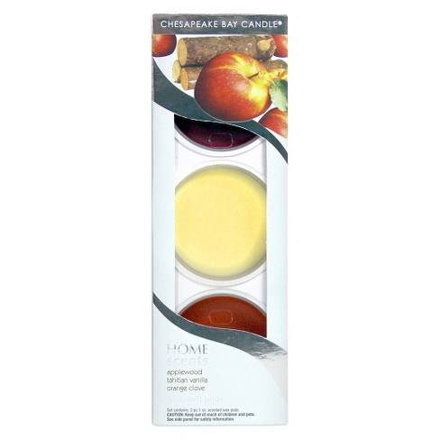 3pk Wax Melt Pods - Home Scents by Chesapeake Bay Candle® - image 1 of 1