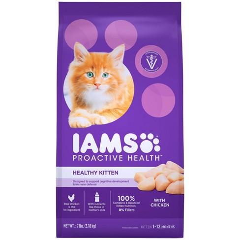 IAMS Proactive Health Kitten Dry Cat Food - 7lbs - image 1 of 4