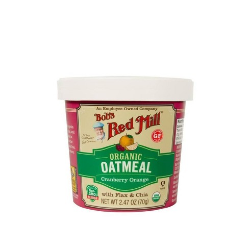 Bob's Red Mill Gluten Free Cranberry Orange Oatmeal Cup - 2.47oz - image 1 of 1