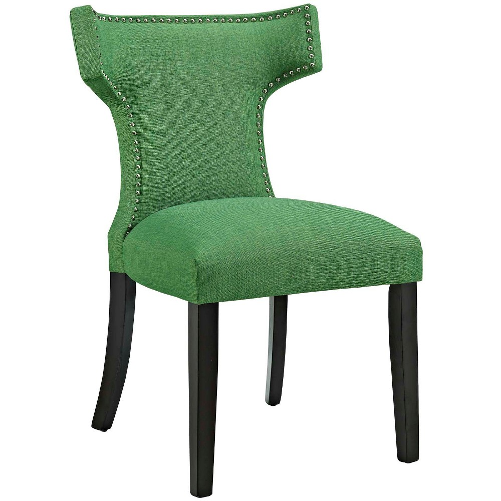 Curve Fabric Dining Chair Kelly Green - Modway